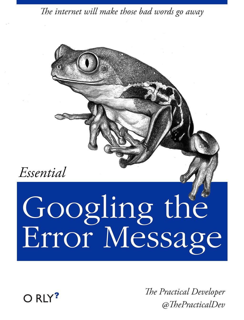 Google The Error Message