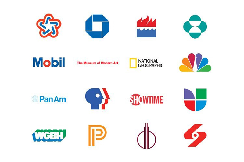 The branding work of Ivan Chermayeff