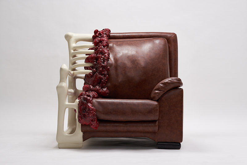 An anatomic armchair by Jade T. Cho