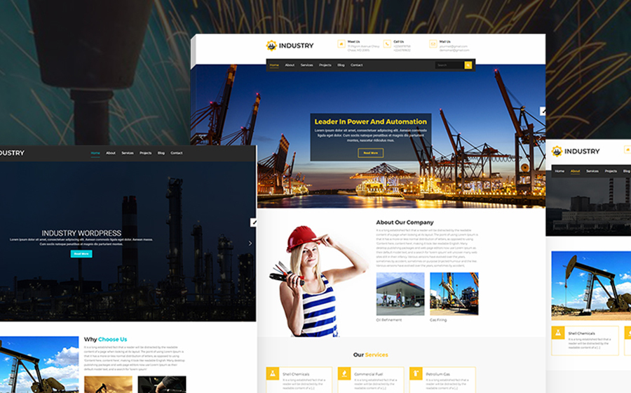 Industry - Multipurpose WordPress Theme