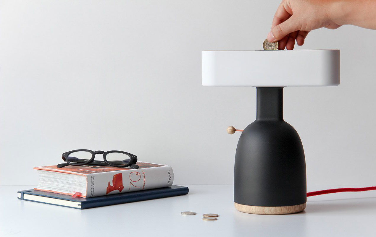 DINA: the lamp you need to pay to get some light