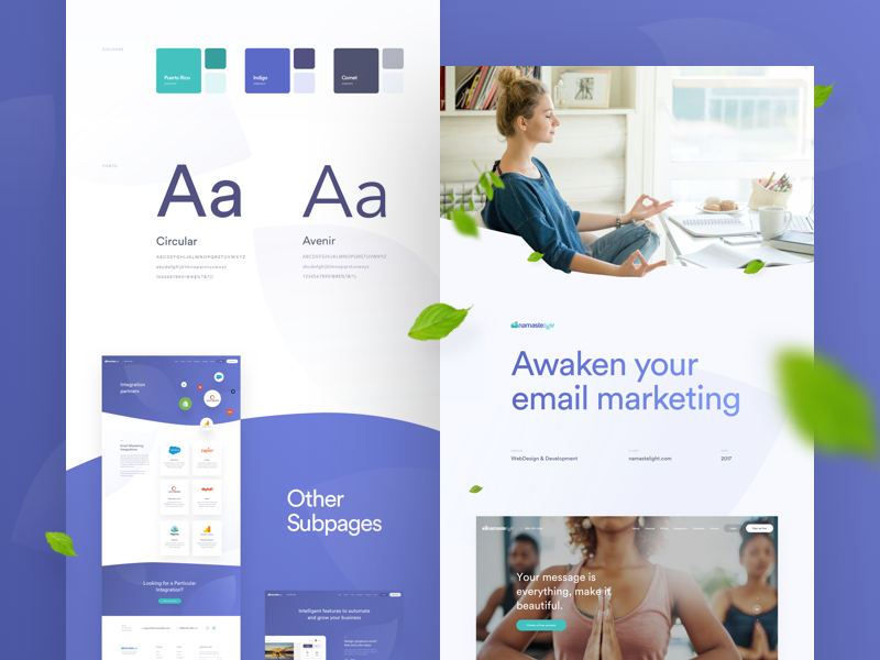 Have you noticed these web design trends in 2018?