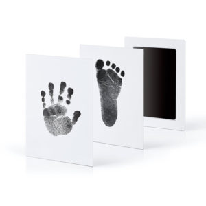 1/2Pcs Newborn Baby Handprint Footprint Inkless Touch Non-Toxic Ink Pad DIY Photo Frame Girl/Boy Infant Baby Gift decoration
