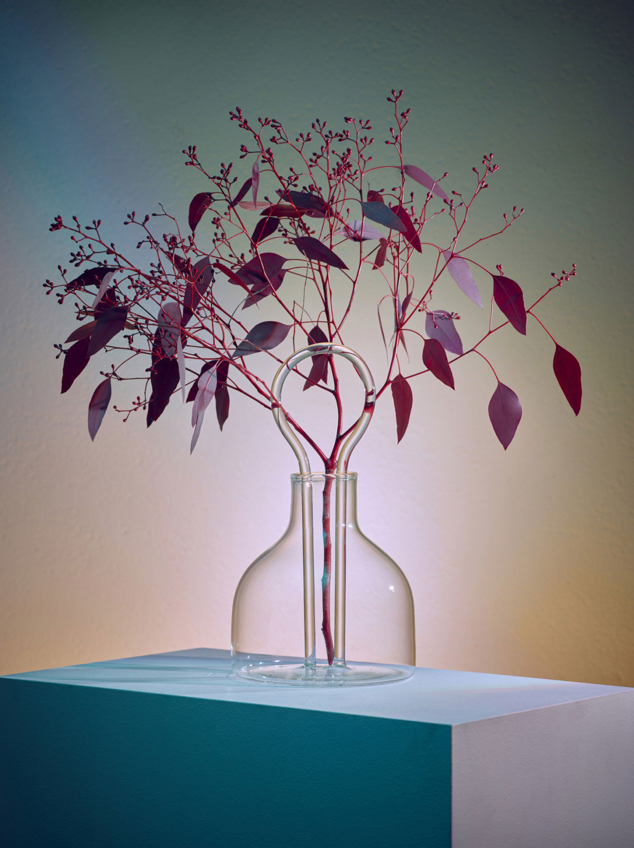 Da Vetro: a limited edition glass collection of vases inspired by human gestures