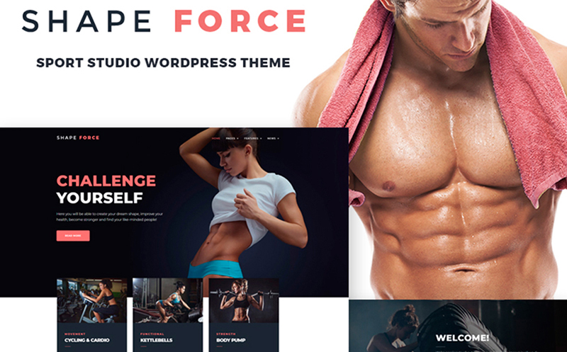 10 Sport & Healthy Lifestyle WordPress Themes