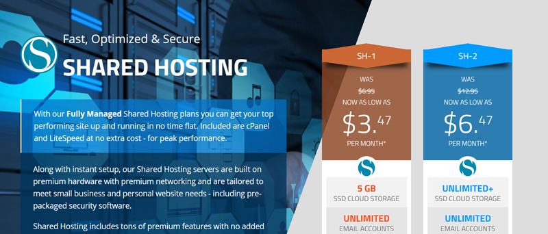 The features you can expect from an SSD managed hosting package