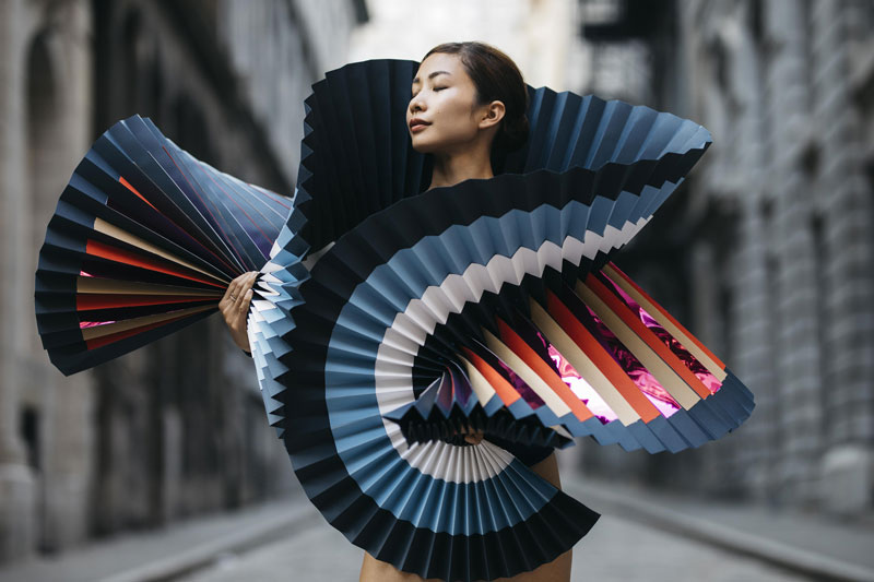 Beautiful: Origami meets Dance