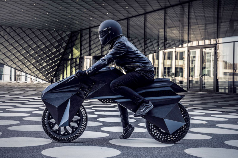 The NERA is the First 3D Printed Motorbike Prototype