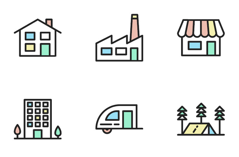 Exclusive: Free Vector Housing Icons