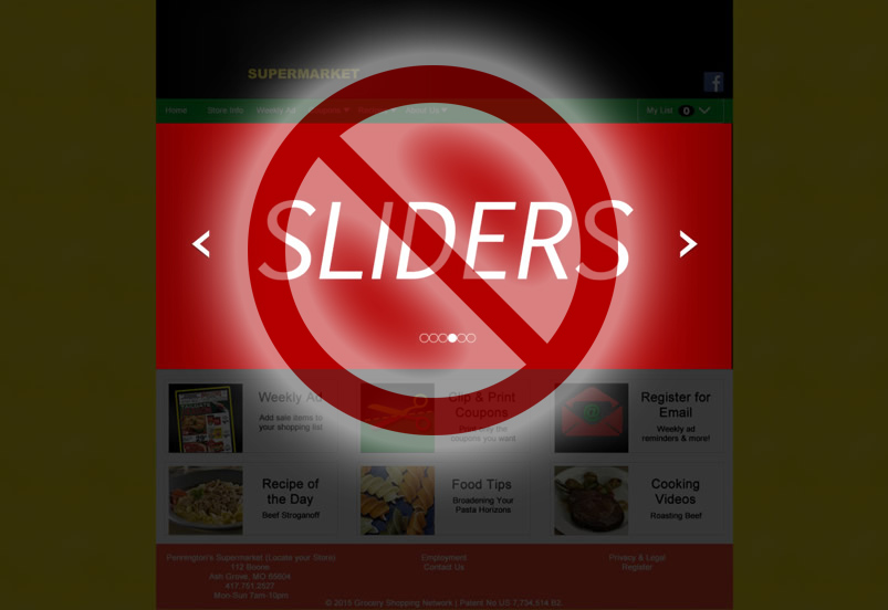 An argument against sliders!