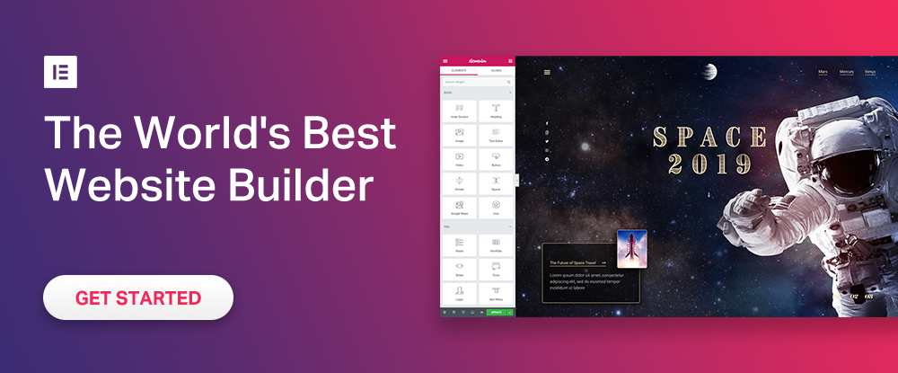 2019: Top 9 tools for building websites and pages