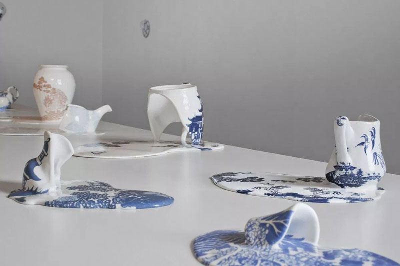 The Melting Ceramics of Livia Marin (Salvador Dali would have loved it)