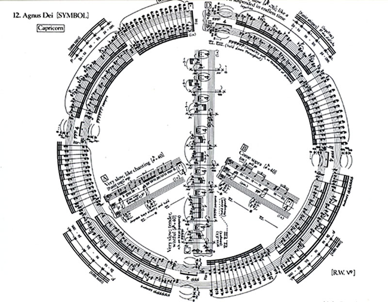 The Spectacular Music Scores of George Crumb