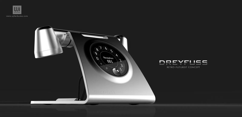 Dreyfuss: a Modern Handset Inspired by Retro Phones