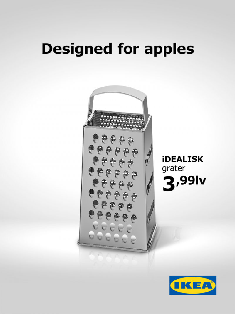 IKEA Releases the Best Grater Ad Ever