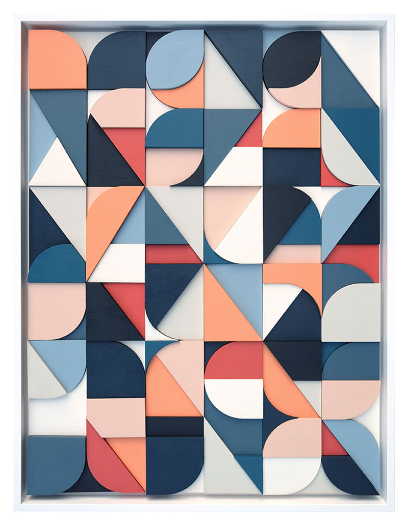 Abstract Artworks Created from Type Forms by Scott Albrecht