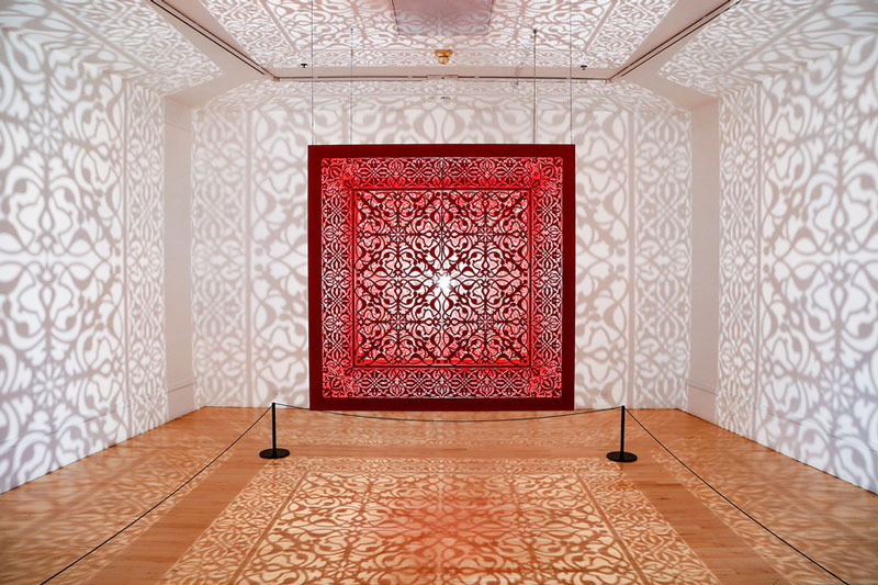 Spectacular Light Installations by Anila Quayyum Agha