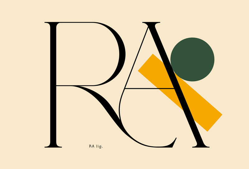 Love: a Typeface Based on Loving Ligatures