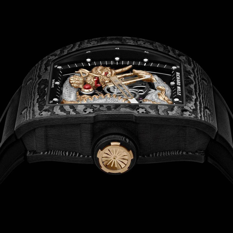 Tourbillon Sapphire Dragon, an Incredible Limited Edition Watch Design