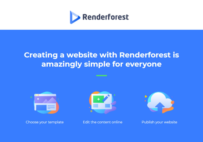 Website Creation Simplified: Renderforest