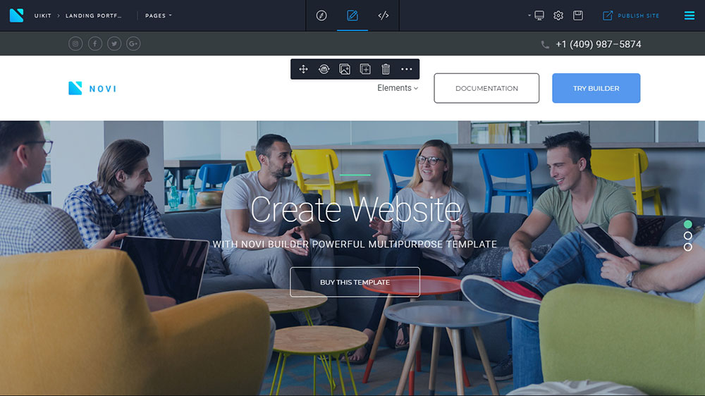 Why Web Designers Love Novi HTML Visual Editor?