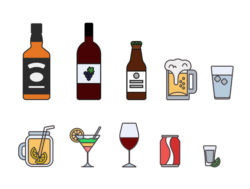 Exclusive: Free Drinks Icons