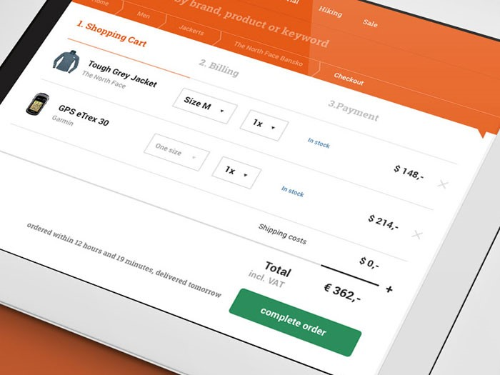 Tips for improving the checkout interface to get better conversions