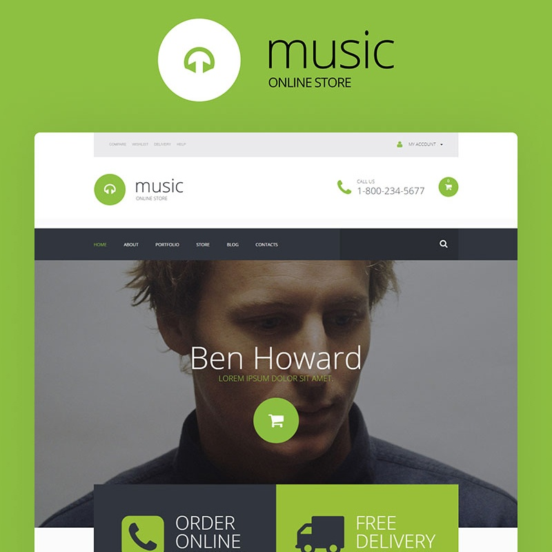 Music Shop WooCommerce Theme