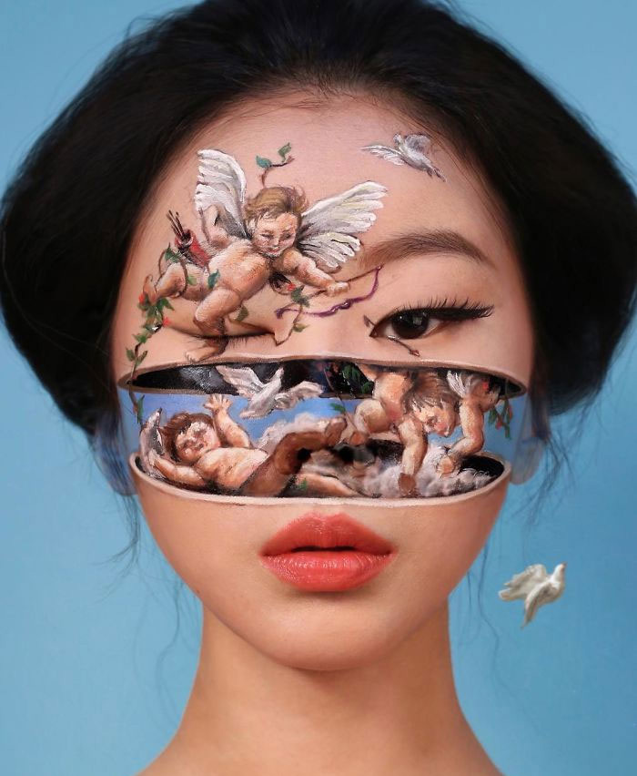 Dain Yoon's Make-up Art Will Confuse You