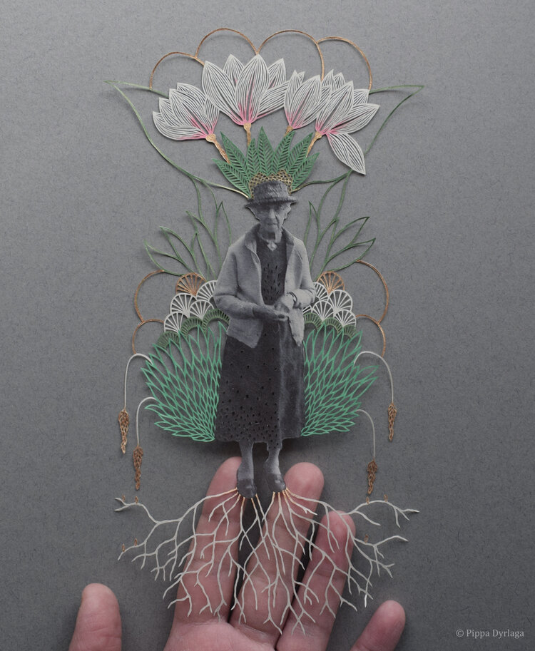 The Poetic Paper-Cuttings of Pippa Dyrlaga