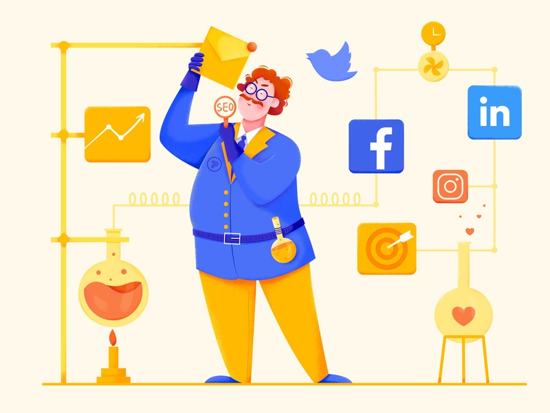 Social media and email subscription