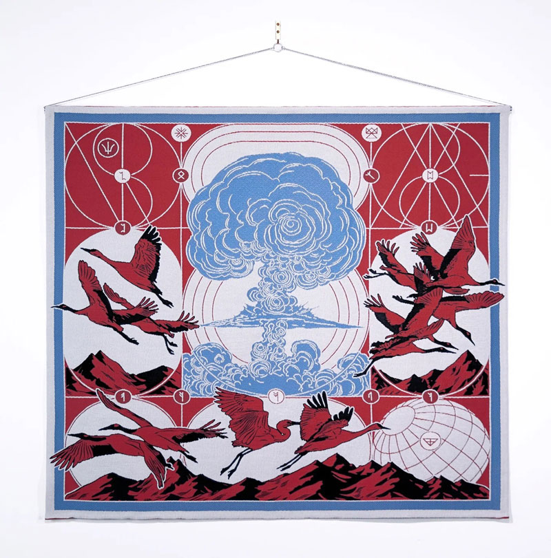 Stravinsky's Rite of Spring reinterpreted by Berke Yazicioglu in a series of 11 tapestries