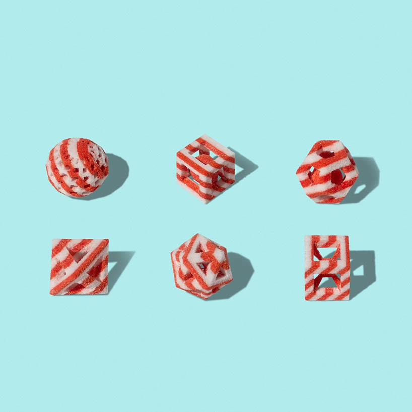 3D Printed Candies For The Holiday Season By Sugar Lab