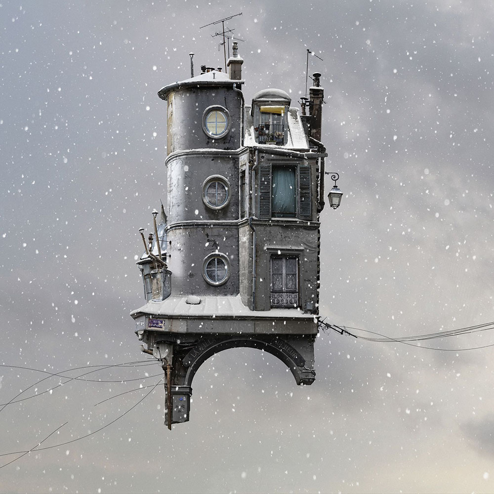 The Flying Houses Of Laurent Chehere
