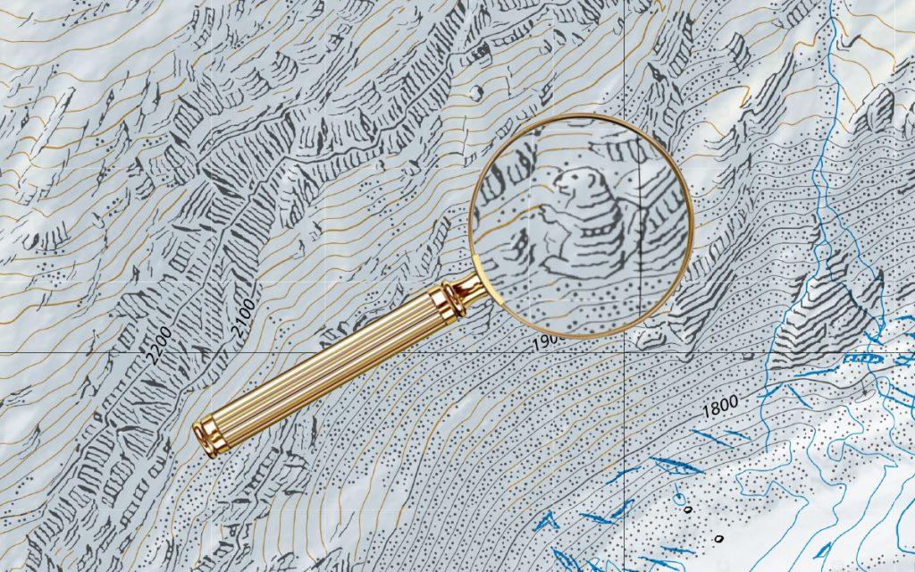 The Hidden Illustrations Of Swiss Maps