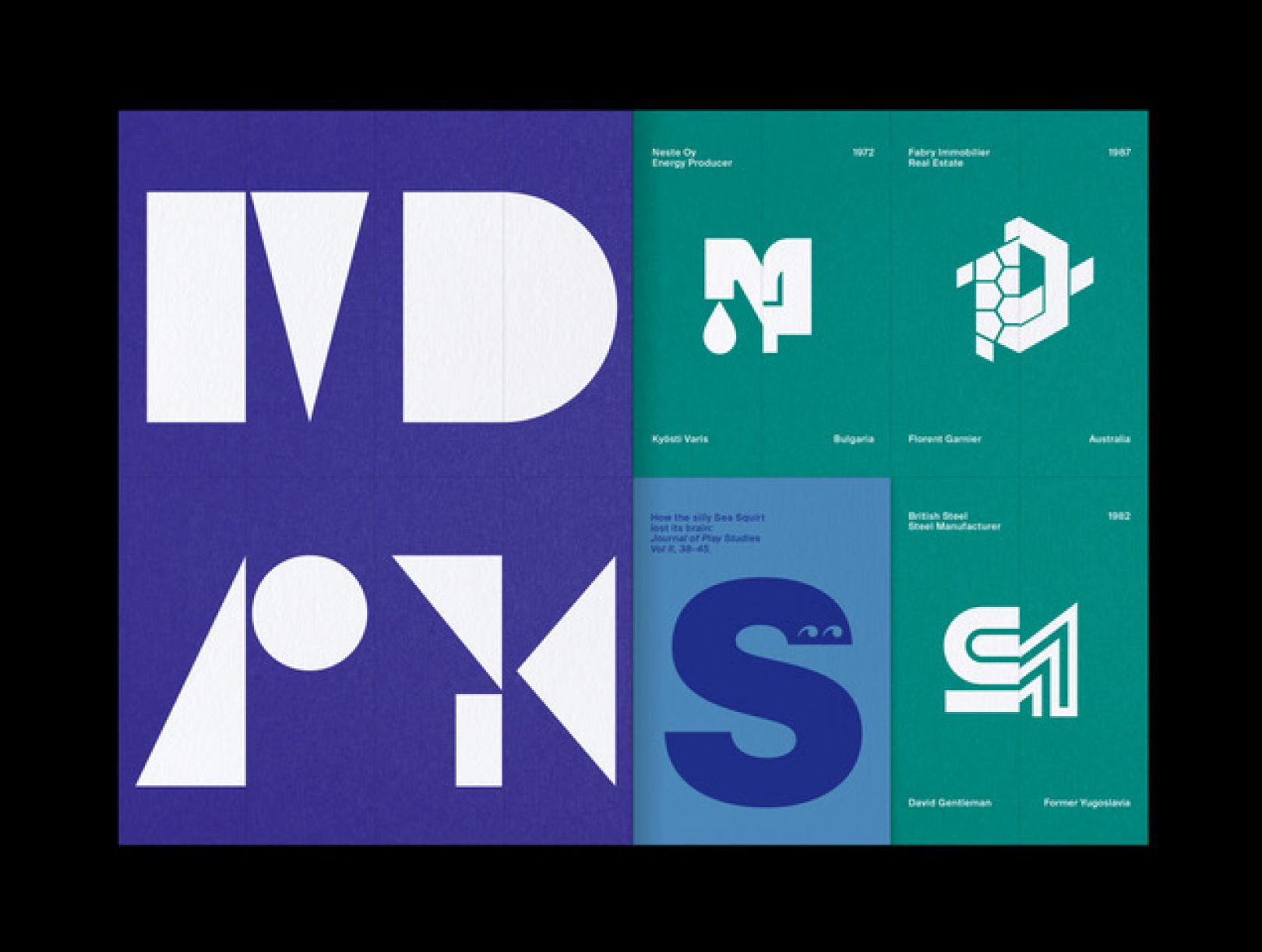 The logo Archive is back with a Playful Issue