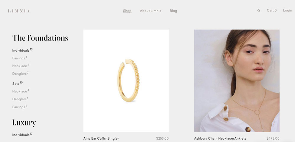 How to create the luxury aesthetic in web design